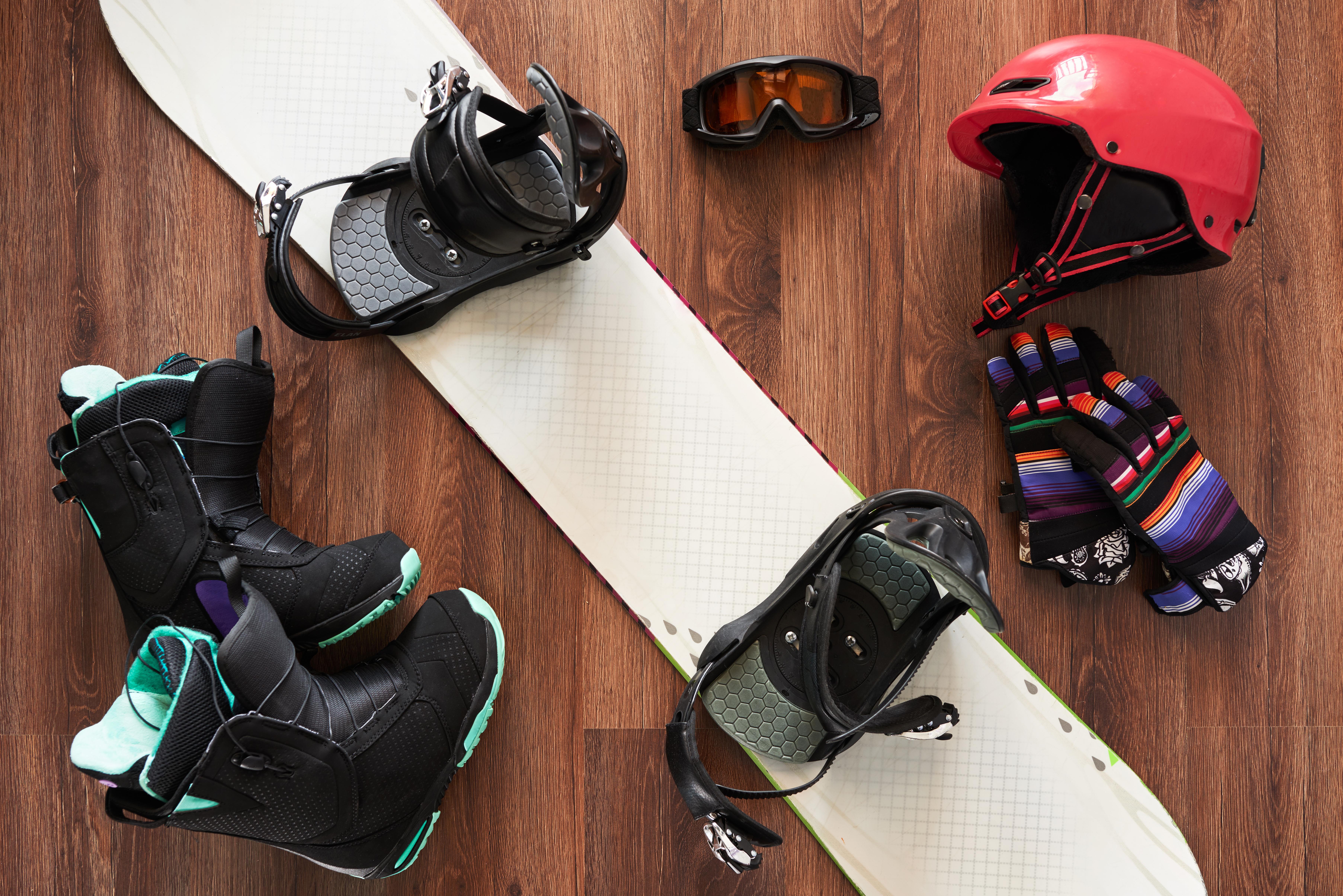 スノーボードのギア