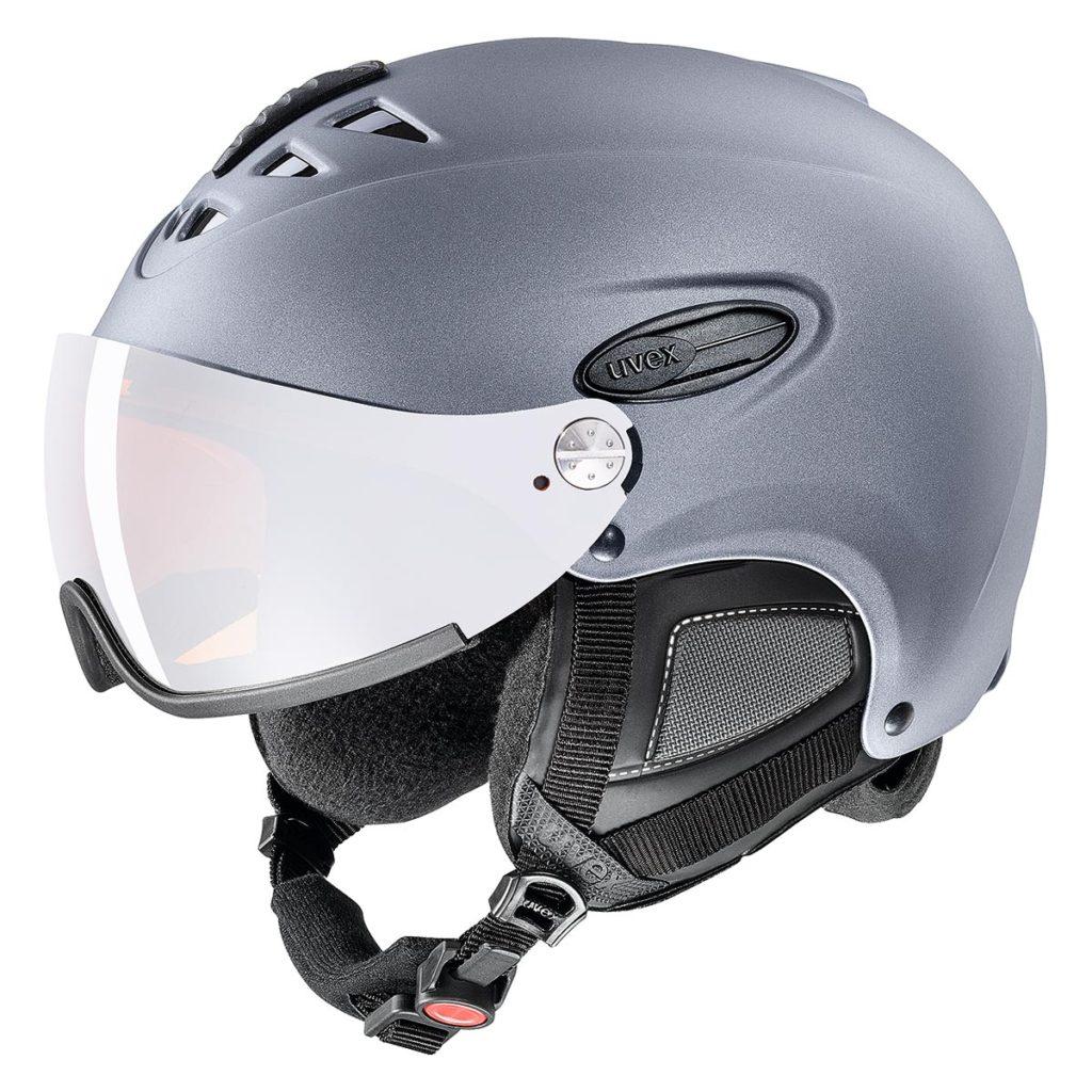 スキーヘルメット uvexのhlmt 300 visor