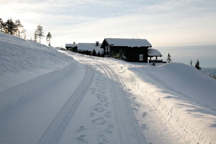 雪道のイメージ画像