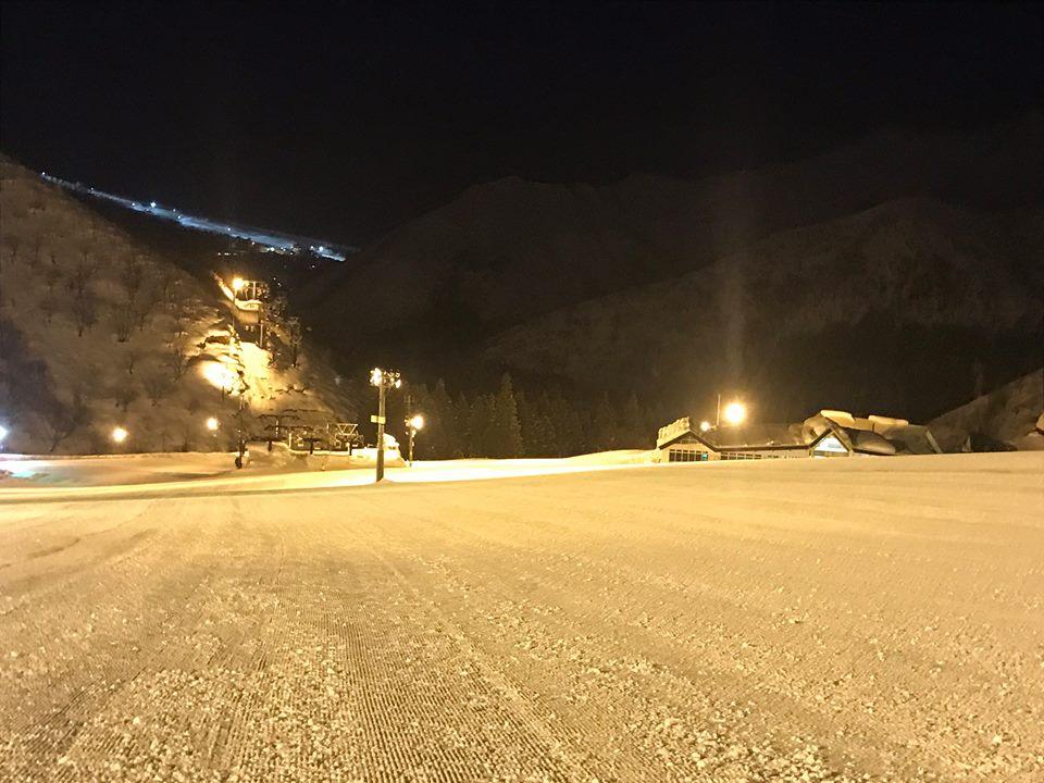 夜の神立高原スキー場