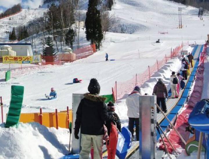 場 平 ほお き の スキー