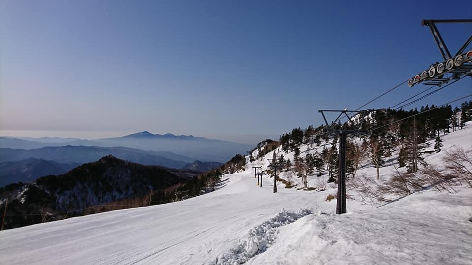 川場 スキー 場 積雪