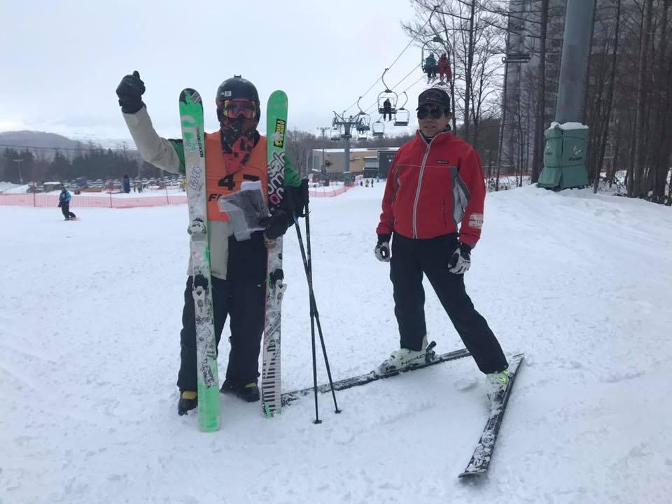 富良野スキー場のスタッフ