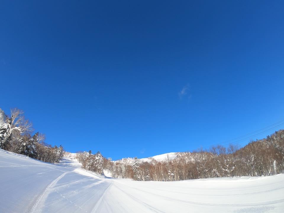 富良野スキー場のゲレンデ