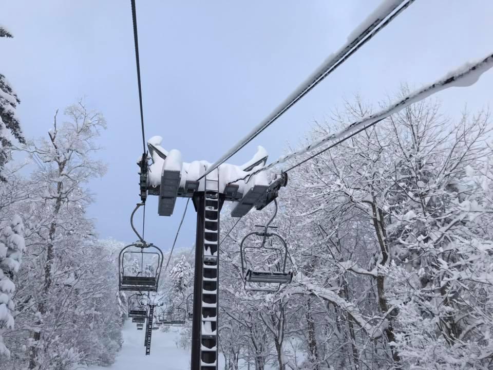 富良野スキー場のリフト