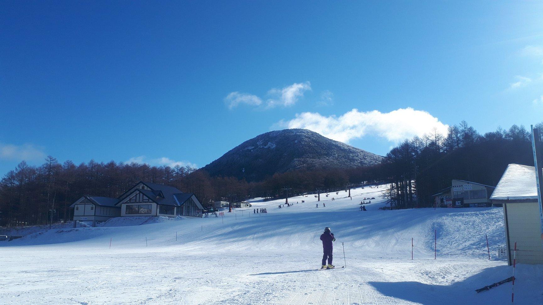 湯の丸スキー場のゲレンデ