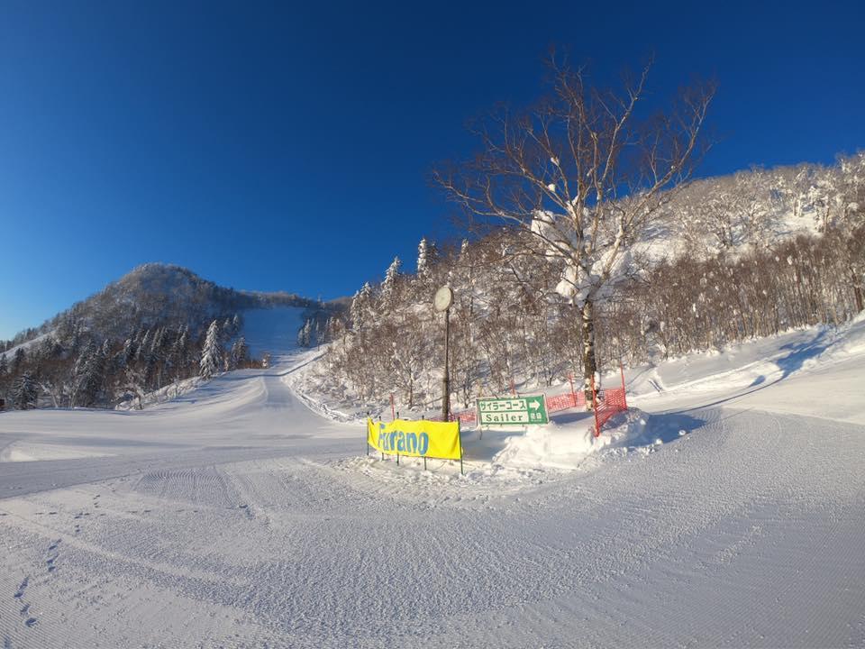 富良野スキー場のコース